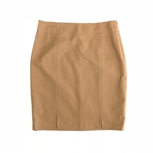 NEW The Limited Collection Camel Brown Pencil Skir